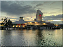SJ8097 : The Imperial War Museum North at Trafford Wharf by David Dixon