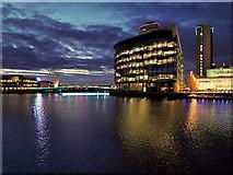SJ8097 : Quay House, MediaCityUK by David Dixon