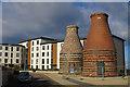 NT3074 : Pottery Kilns by Anne Burgess