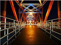 SJ8097 : The Detroit Bridge, Salford Quays by David Dixon