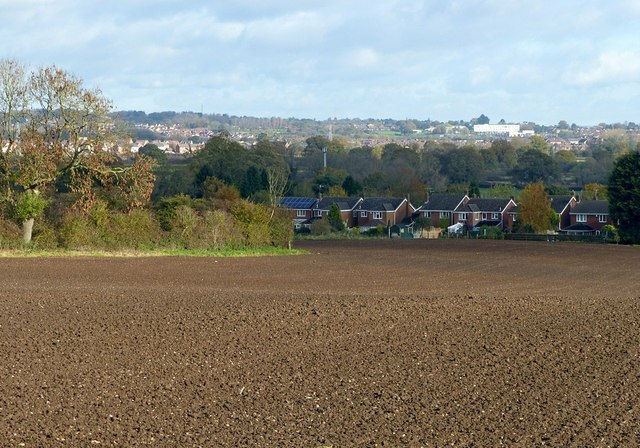 View from Porter's Lane, Findern