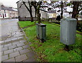 SS9991 : Royal Mail drop box, Penygraig Road, Penygraig by Jaggery
