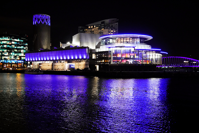 The Lowry Theatre Complex, Salford Quays