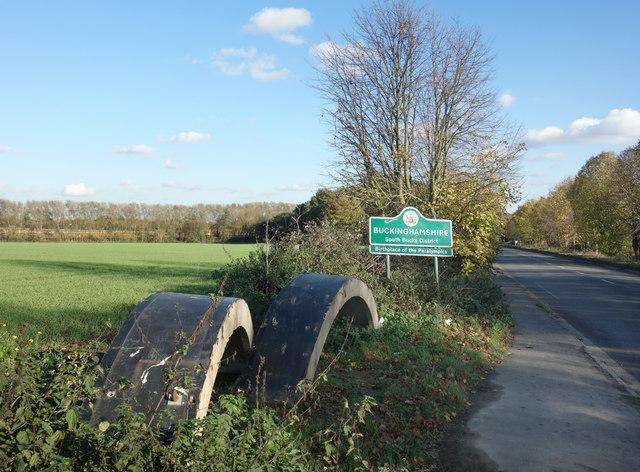 Buckinghamshire County Sign