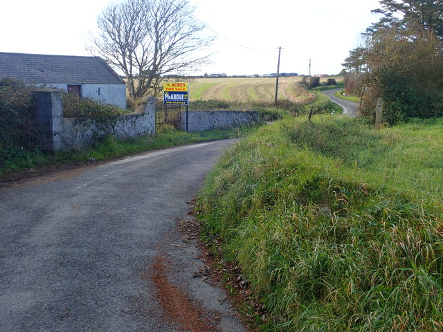 Bends in the Templetown Road by Templetown House