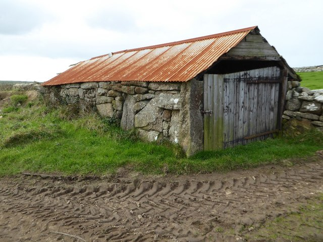 Old stone-built shed