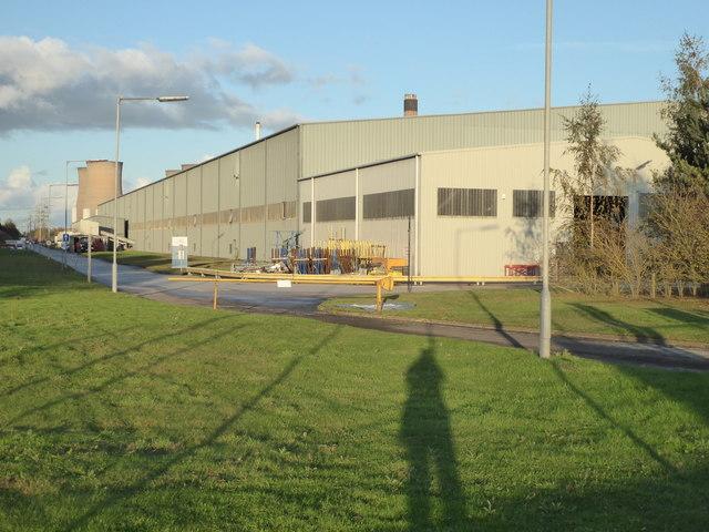 St Gobain glass factory, Eggborough