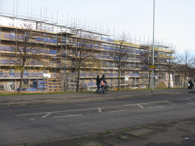 New housing at Niddrie