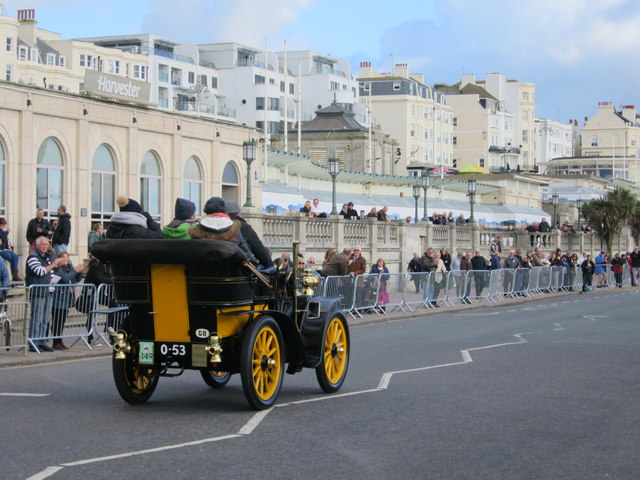 London to Brighton Veteran Car Run, Madeira Drive