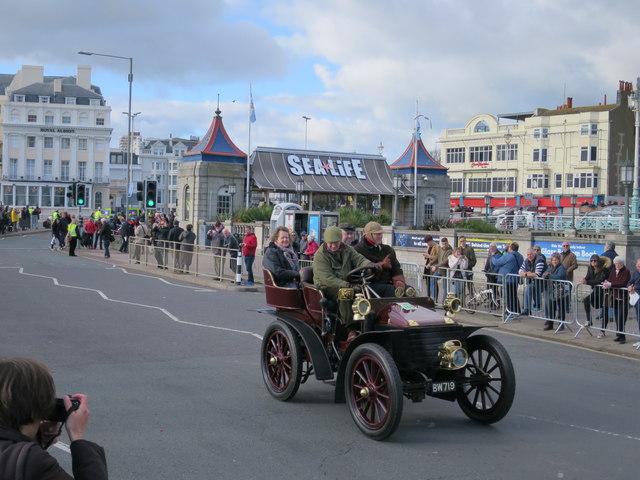 London to Brighton Veteran Car Run, Madeira Drive