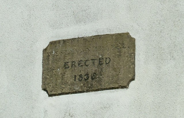 Datestone on the Methodist Chapel
