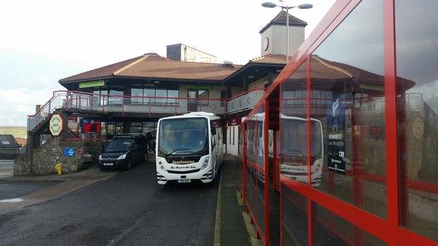 Viking Bus Station, Lerwick