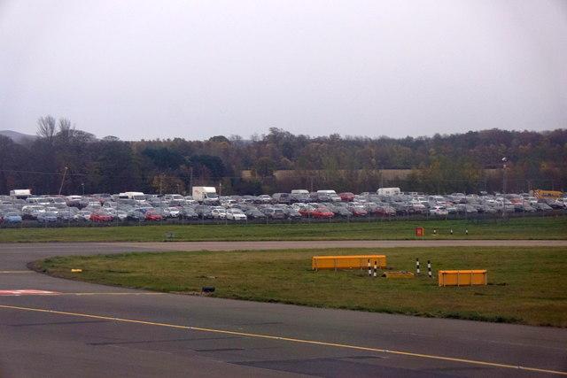 Car-parking at Ingliston from Edinburgh Airport