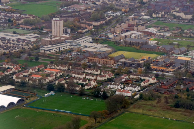 Muirhouse, Edinburgh from  the air