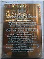 TA0928 : Hull Minster: memorial (e) by Basher Eyre