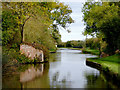 SK2626 : Canal north-east of Stretton, Staffordshire by Roger  Kidd