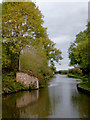 SK2626 : Site of former canal bridge near Clay Mills, Staffordshire by Roger  Kidd