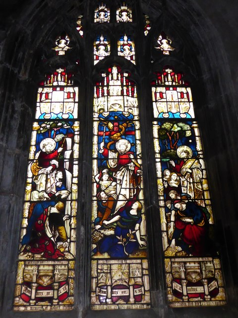 St Mary, Lowgate: stained glass window (b)