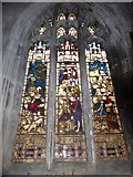 TA1028 : St Mary, Lowgate: stained glass window (c) by Basher Eyre