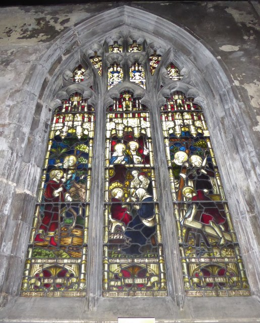 St Mary, Lowgate: stained glass window (g)