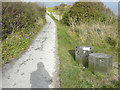 TR3341 : Sculpture C, Saxon Shore Way/White Cliffs County Trail by John Baker