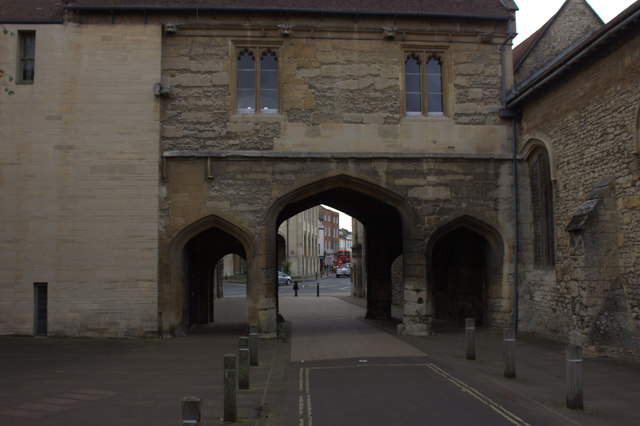 Guildhall Arch, Abingdon