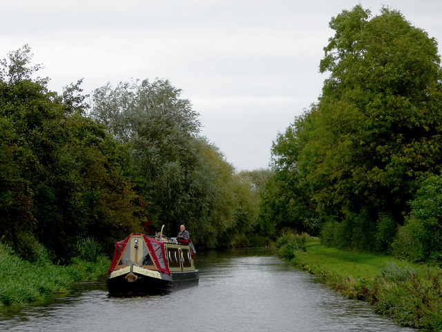 Trent and Mersey Canal east of Eggington, Derbyshire