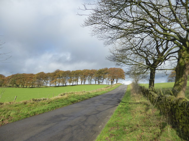 Edge Road near Mompesson's Well