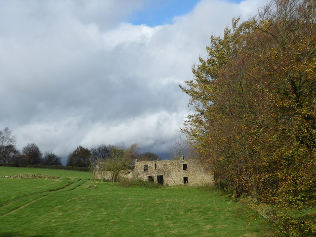 Ruined house near Sir William Hill Road