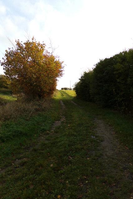 Footpath off the A1120 Yoxford Road
