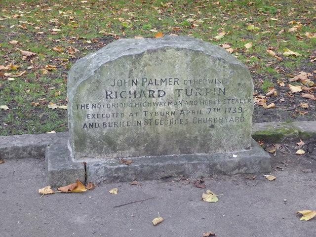 Dick Turpin's grave, York