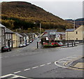 SS9398 : Junction of the A4061 and B4522 in Treherbert by Jaggery