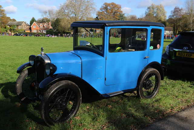 Vintage Car, Staplefield, East Sussex