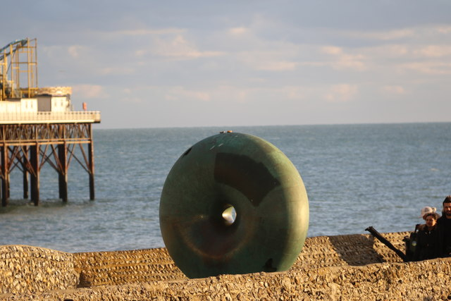 Doughnut Sculpture, Brighton,  East Sussex