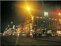 SD3035 : Blackpool Promenade Lights by norman griffin
