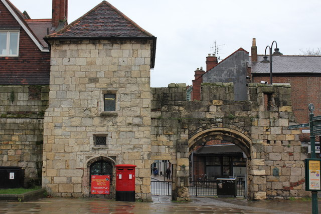 Queen Margaret's Arch in the Abbey Walls, Exhibition Square, York