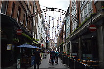 TQ2980 : Entrance to Carnaby Street by N Chadwick
