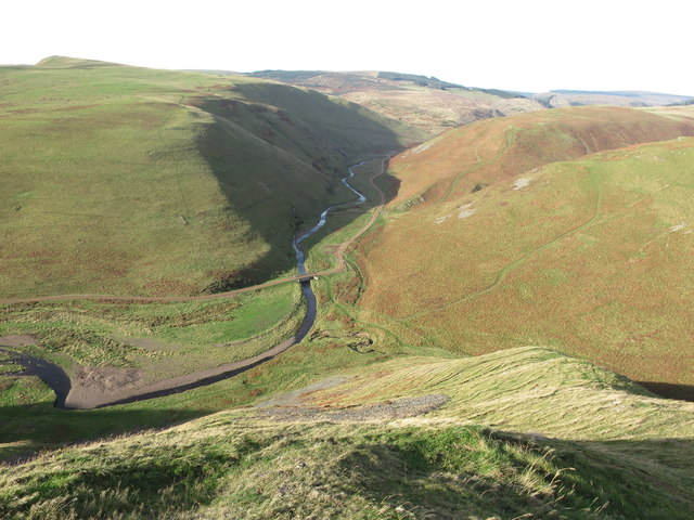 North Western Shank of Clennell Hill