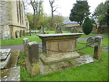 SK2176 : Tomb of Catherine Mompesson, Eyam by Marathon