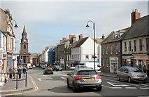 NT9953 : View along Marygate, Berwick by Bill Harrison
