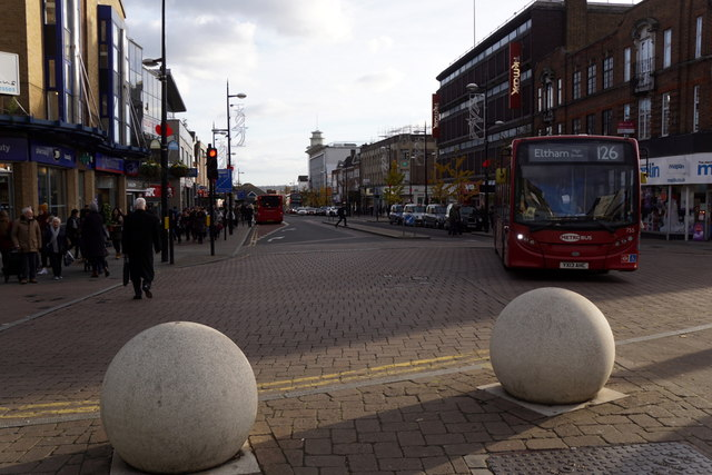 Bromley High Street south of Ethelbert Road