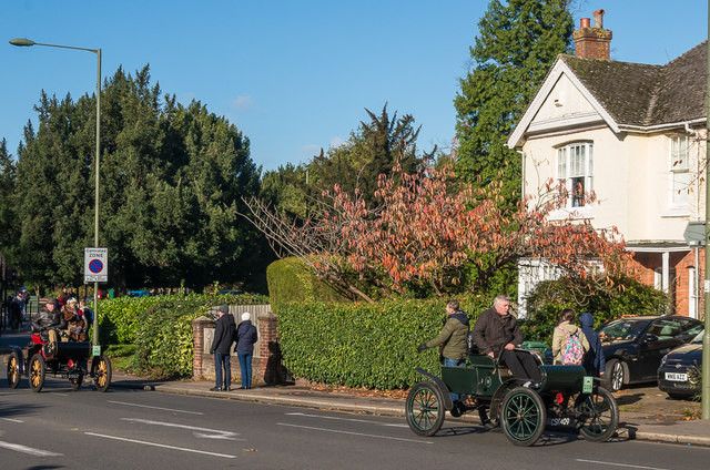 London to Brighton Veteran Car Run 2017 on Reigate Road