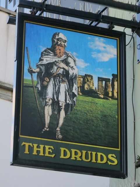 The Druids sign