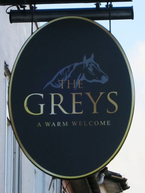 The Greys sign