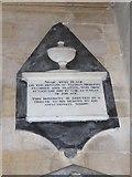TA0339 : Beverley Minster: memorial (3) by Basher Eyre