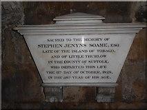 TA0339 : Beverley Minster: memorial (6) by Basher Eyre