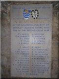 TA0339 : Beverley Minster: memorial (9) by Basher Eyre