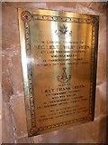 TA0339 : Beverley Minster: memorial (14) by Basher Eyre