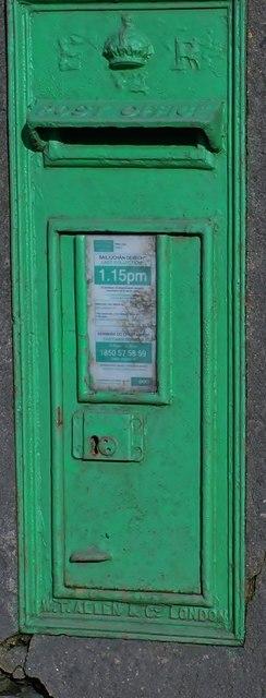 An Edward VII Post Box at Ballinamara