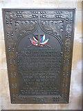 TA0339 : Beverley Minster: memorial (18) by Basher Eyre